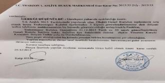 Hacıosmanoğlu'na Mahkeme Şoku