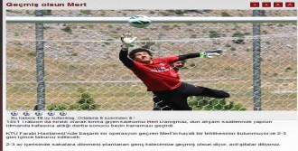 Trabzonspor'un Genç Kalecisi Beyin Kanaması Geçirdi