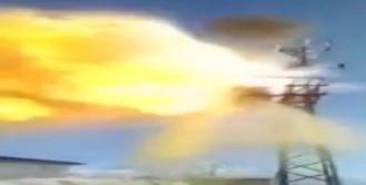 Trafo Bomba Gibi Patladı
