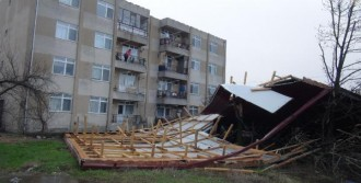 Trakya'da Fırtına Etkili Oldu
