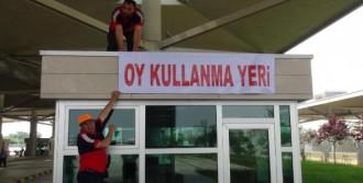 Trakya'da Gümrüklere 7 Sandık Kuruldu