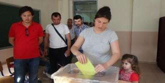 Trakya'da Seçime Yoğun Katılım