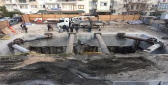 Tramvay Hattı Elektrik Trafosu İnşaatı Duvarları Çatlattı İddiası