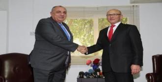 Türkeş, Mehmet Ali Talat ile Görüştü