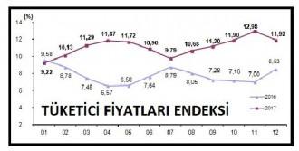 Enflasyonu Yüzde 11.92