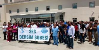 Tunceli'de Yemek Boykotu