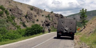 Tunceli'de 200 Kiloluk Bomba İmha Edildi