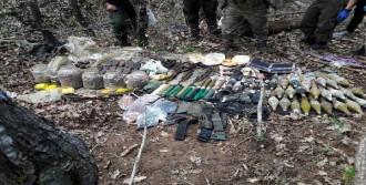 Tunceli'de PKK'nın Silah ve Mühimmatı Bulundu