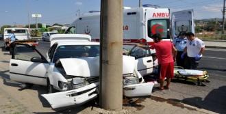 Turgutlu'da Düğün Dönüşü Kaza