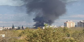 Turgutlu'da Trafo Yangını