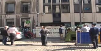 Türk Elçiliği Önünde 'Gezi' Eylemi