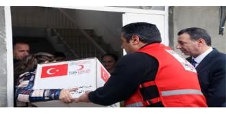 Türk Kızılayı'ndan Yardım