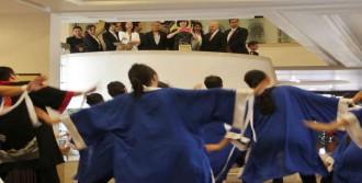 Japon Fırst Lady'ye Japon Dansı