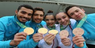 Türkiye Cimnastik Milli Takımı'ndan14 Madalya