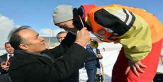 Türkiye'de İlk Karda Kızak Şampiyonası