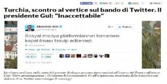 Twıtter'ın Kapatılması İtalyan Basınında