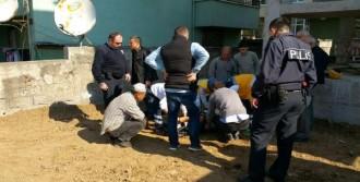 Üçüncü Kattan Düşen İnşaat İşçisi Yaralandı