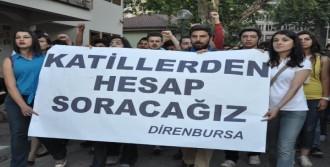 Uğur Kurt İçin Bursa'da da Yürüyüş Yapıldı
