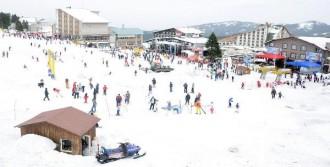 Uludağ'a Dün Gece 70 Santim Kar Yağdı