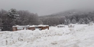 Kar Kalınlığı 45 Santimetreye Ulaştı