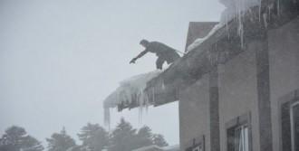 Uludağ'da Tehlikeli Görüntü
