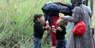 Mülteci Çocukların Dondurma Mutluluğu