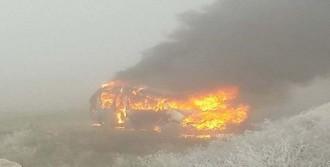 Minibüs Alev Aldı: 7 Yaralı