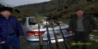 Tavşan Avcılarına 5 Bin Lira Ceza