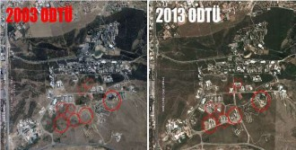 Uydu Görüntüleriyle Odtü Açıklaması