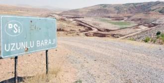 Uzunlu Barajı'ndaki Su Kaçağı Kapatılıyor