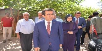Vali Güzeloğlu, 15 Temmuz Şehitlerinin Ailesini Ziyaret Etti