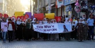 Kevser Eltürk İçin Nusaybin'de Yürüyüş