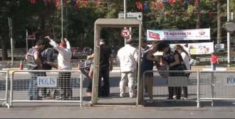 Vatan Caddesi'nde 30 Ağustos Töreni