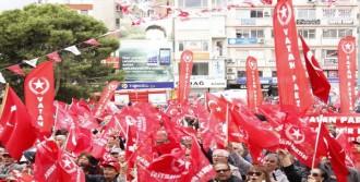 Vatan Partisi Genel Başkanı Doğu Perinçek, İzmir'de Konuştu