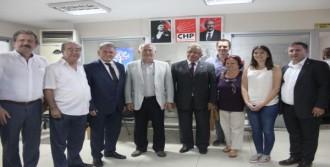 Vatan Partisi'nden CHP'ye Ziyaret