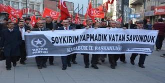 Vatan Partisi'nden 'Soykırım' Protestosu