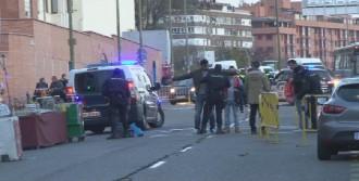 Vicente Calderon Stadı Çevresinde Polis Kuş Uçurtmadı