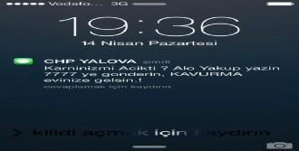 Yalova'da CHP'lilere 'Kavurma' İçerikli Sms