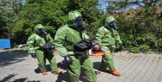 Yalova'da Endüstriyel Kaza Tatbikatı