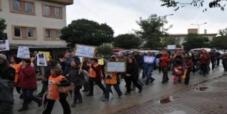 Yalova'da Taşocağını Protesto Yürüyüşü