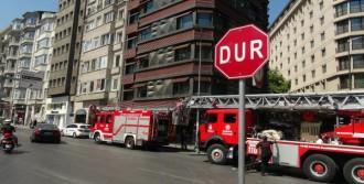 Yangına Müdahaleye Stajyer İtfaiyeci Desteği