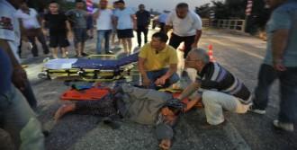 Yaşlı Çift Kazada Yaralandı