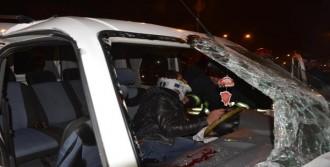 Kaza Yapan Araçta Can Pazarı