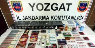 Yozgat'ta Cinsel İçerikli Hap Operasyonu