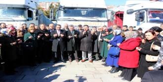Yozgat'tan Türkmenlere 6 TIR Yardım