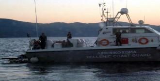 Yunan Sahil Güvenlik Botunda Kaçaklara Dayak