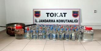 250 Litre Kaçak Rakı Ele Geçirildi