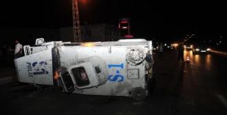 Polis Aracı Takla Attı