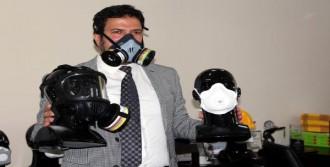 Zonguldak'ta Milli Gaz Maskesi Üretimi