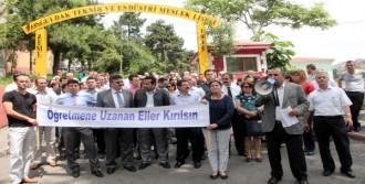 Öğretmenler, Kayseri'deki Saldırıyı Kınadı